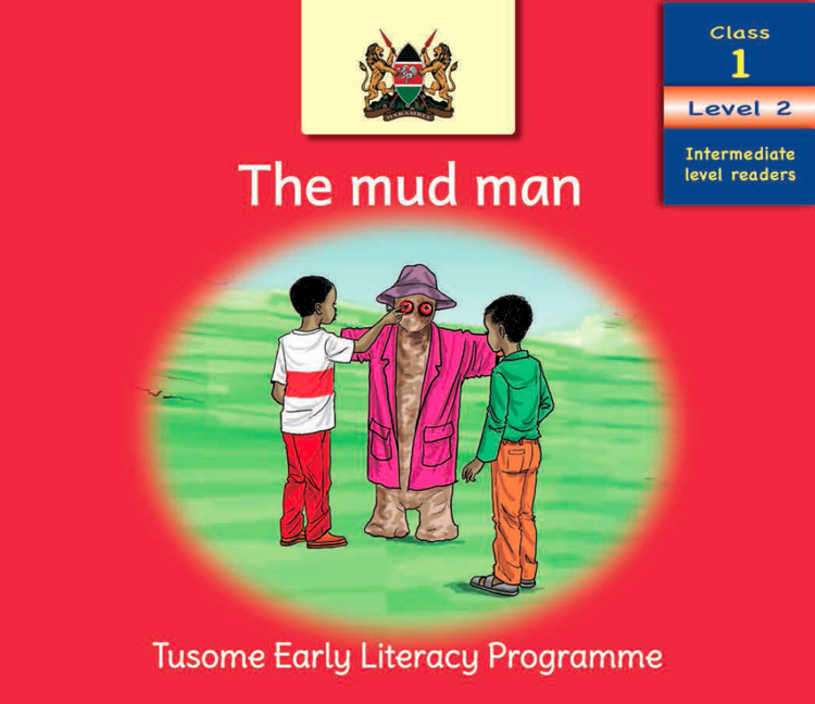 Cover page for the Mud Man